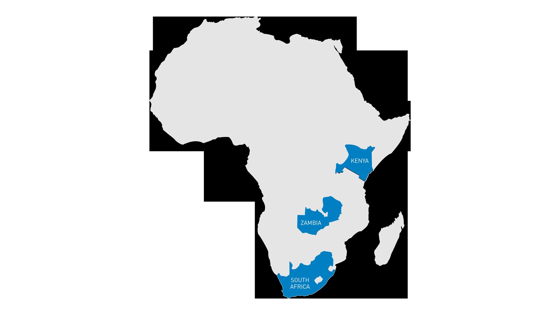Improvon   Actis Africa Map